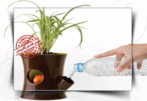 گلدان پلاستیکی تزئینی