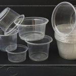 گلدان پلاستیکی یکبار مصرف