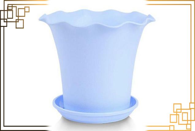 گلدان پلاستیکی لیمون